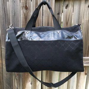 Armani Exchange Monogram Logo Duffle Bag